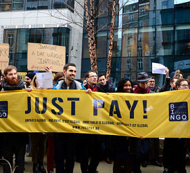 Brussels interns join global protest as EU watchdog slams unpaid internships
